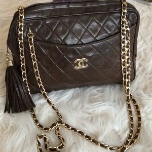 💞BONELLI Florence💞quilted gorgeous purse